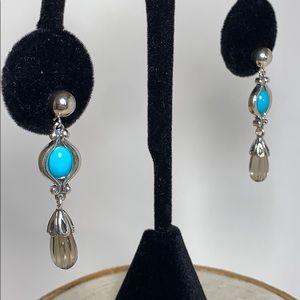 Carolyn Pollack Sterling Earrings